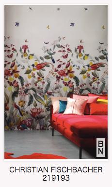 フィスバの壁紙。オランダのBN社にて。インテリアコーディネーターのブログ。