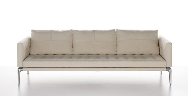 フィリップスタルク カッシーナのソファ ボラージュ 白い革