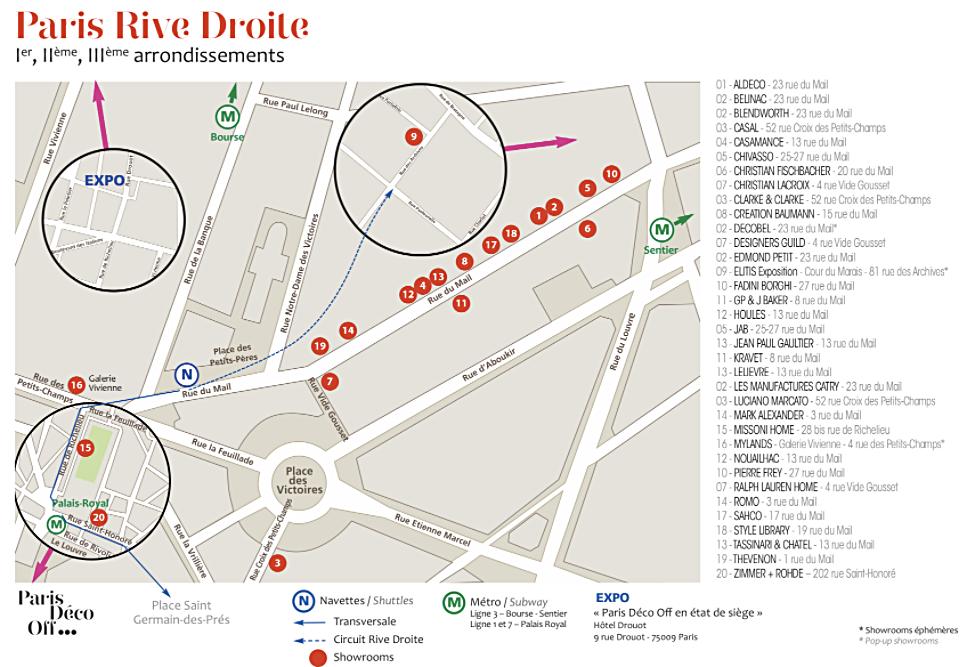 パリ デコオフ 右岸 インテリアコーディネーターのブログ
