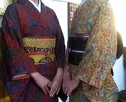 染め返したお着物と、祖母の帯。インテリアコーディネーターのブログ。