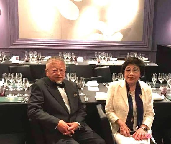 浦一也氏が内装をデザインしたトワイライトエクスプレスの運転開始を祝う会。主催は米生澪子先生。インテリアコーディネーターのブログ