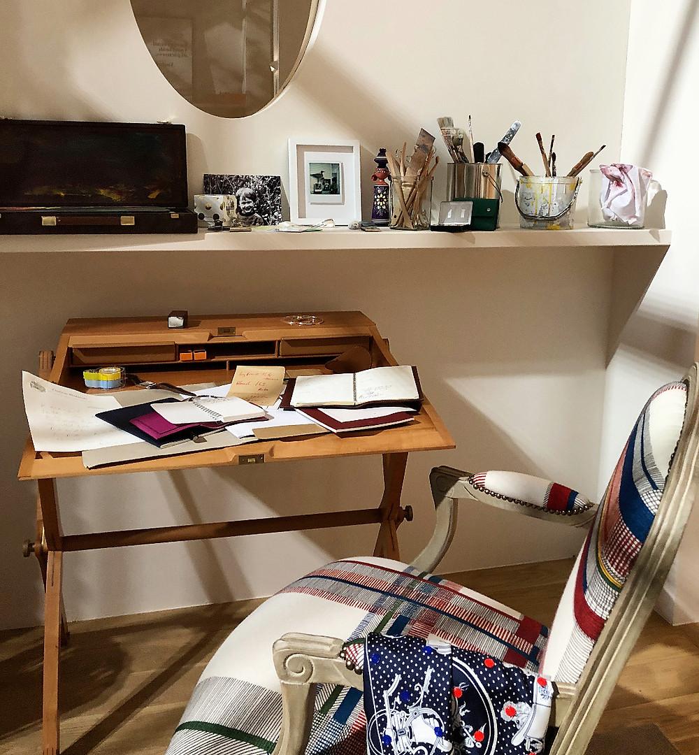 エルメスのインテリア。インテリアコーディネーターのブログ。 家具が素敵