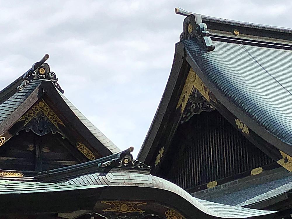 伊勢神宮の美しい屋根。インテリアコーディネーターのブログ。