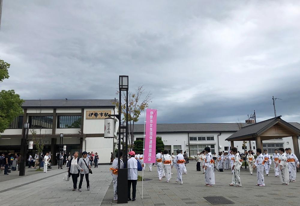 伊勢市駅。伊勢神宮参りのブログ。インテリアコーディネーターのブログ