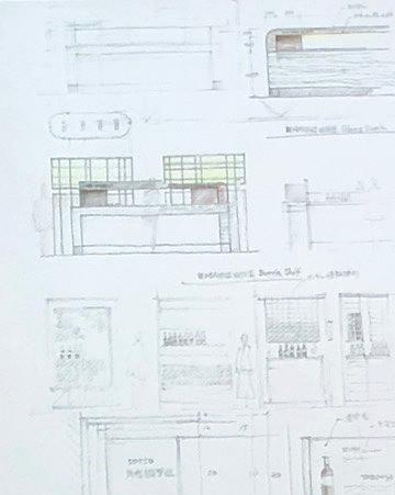 エイトデザイン藤井信介さんが語るトークショーにて。デザインスケッチ。インテリアコーディネーターのブログ