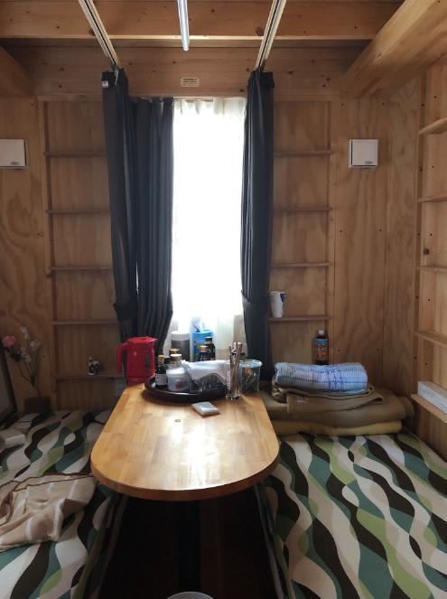 トレーラーハウスの仮設住宅のインテリアについて。コーディネータのブログ