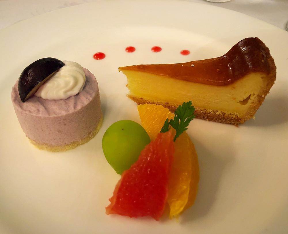 鳥羽国際ホテルのチーズケーキは正統派の美味しさ。インテリアコーディネーターのブログ。