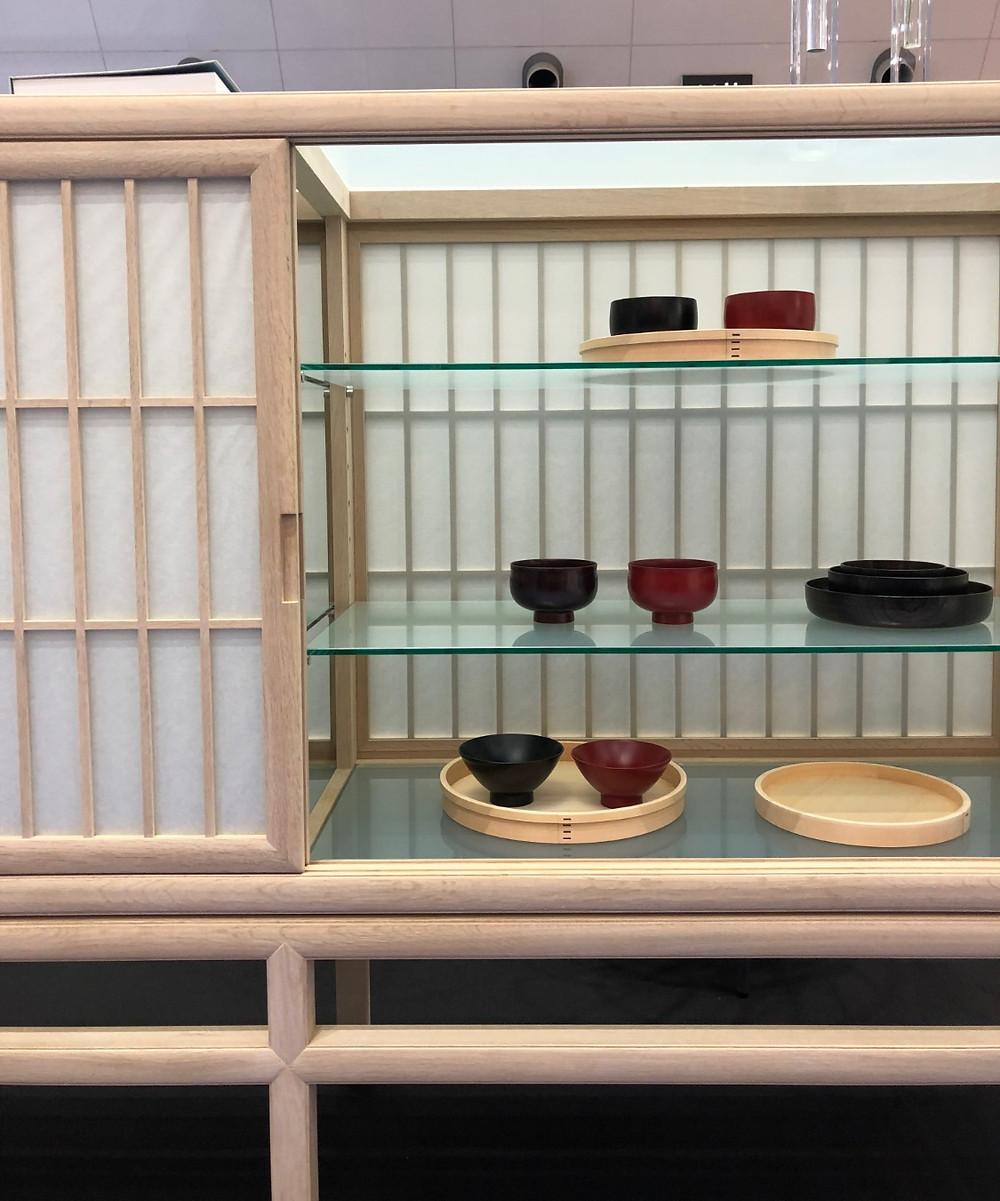 IFFT2018で展示された、タイム&スタイルの新商品。インテリアコーディネーターのブログ。障子の家具