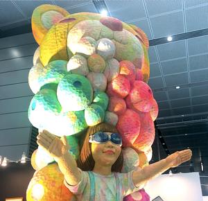 アートフェア東京2019に出品された大きな作品。インテリアコーディネーターのブログ