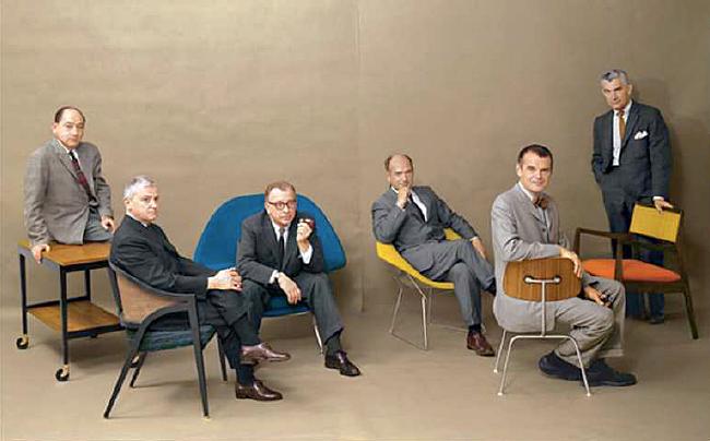 モダンマイスターの6人。ミッドセンチュリーのデザイナー揃い踏み。インテリアコーディネーターのブログ