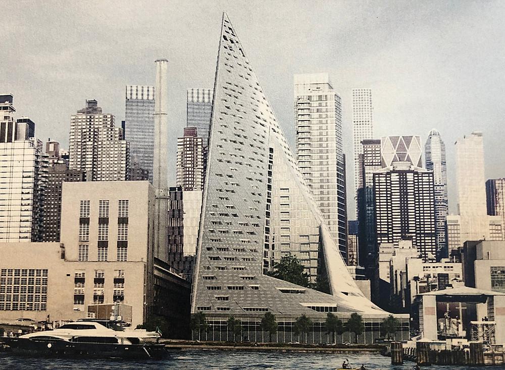 ニューヨーク VIA57WEST BIG KIBISIの建築。インテリアコーディネーターのブログ。