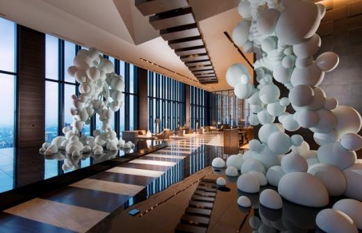 大阪ホテルコンラッドのデザイナー橋本夕紀夫氏のトークショー。インテリアコーディネーターのブログ