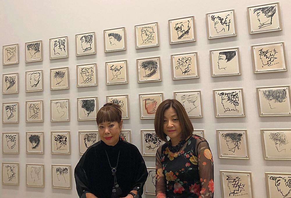 コシノヒロコ 中原淳一へのオマージュ展にて。インテリアコーディネーターのブログ。