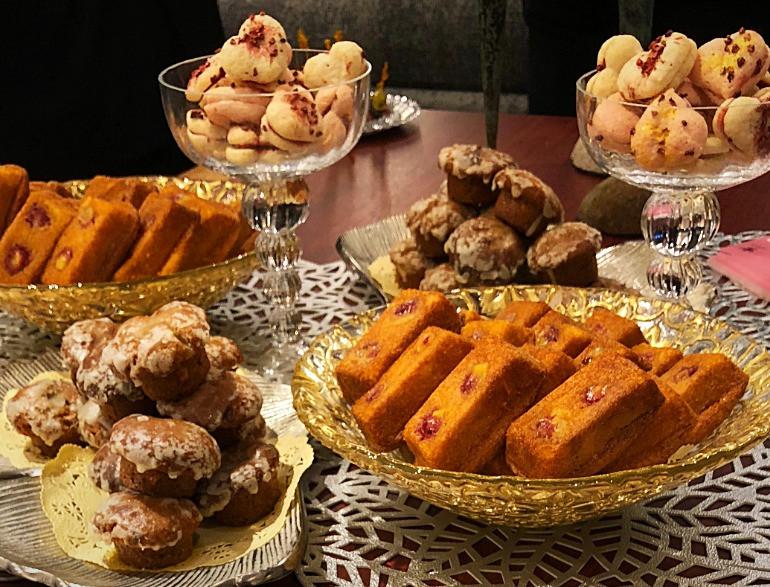 名古屋のシャンデュリエの焼き菓子が、エールドールのパーティーで。インテリアコーディネータのブログ。