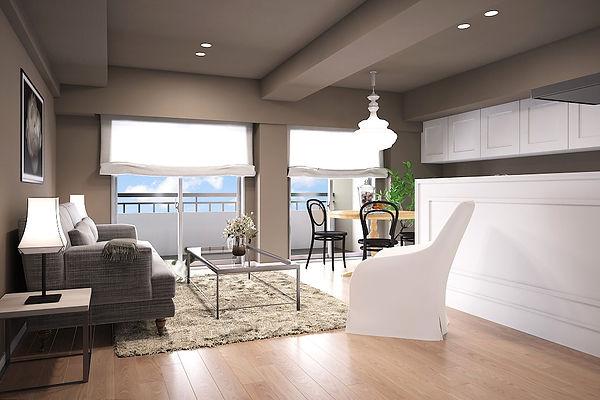 マンションのインテリアコーディネート。購入前に家具のレイアウトや収納計画をしっかりしておくと、素敵な暮らしが実現します。