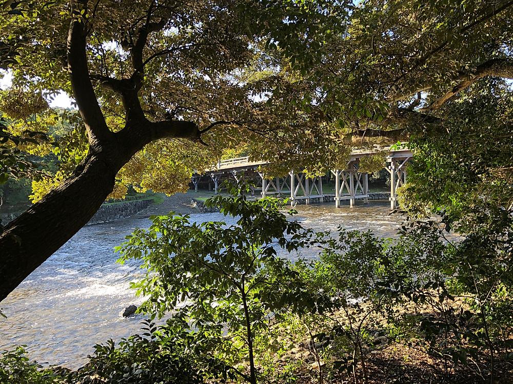 伊勢神宮の宇治橋。インテリアコーディネーターの旅ブログ
