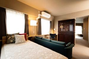 おしゃれな寝室インテリア実例 ウィリアムモリス ピュアモリスのクッション リフォーム