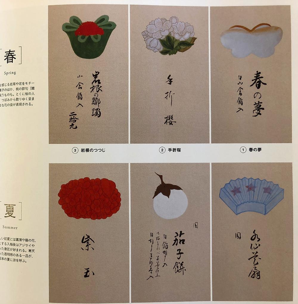 和菓子のデザイン帳。季節を写し取った美しいアート。インテリアコーディネーターがとらや新店舗を尋ねたブログ。