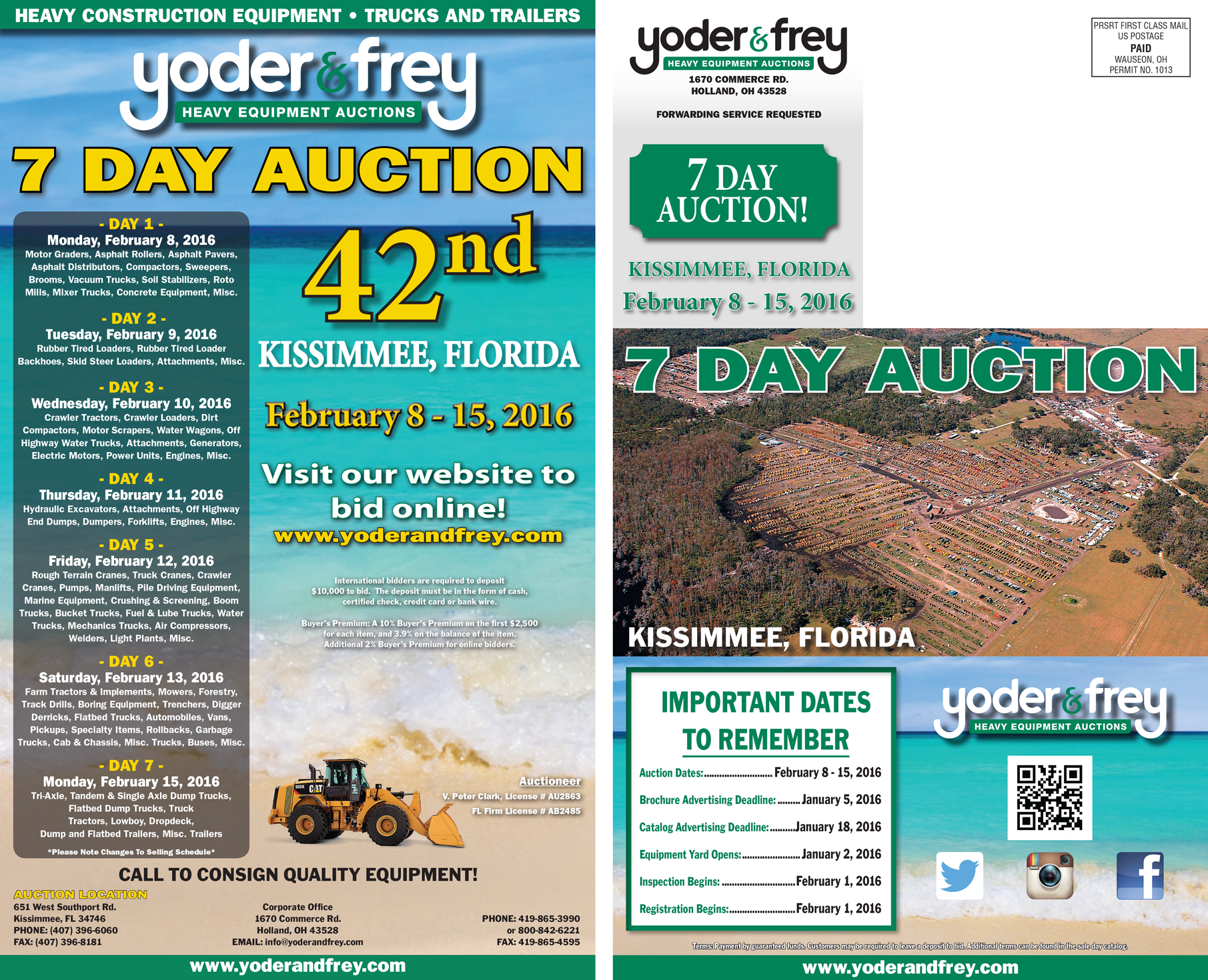 2016 Yoder & Frey Kissimmee Flyer