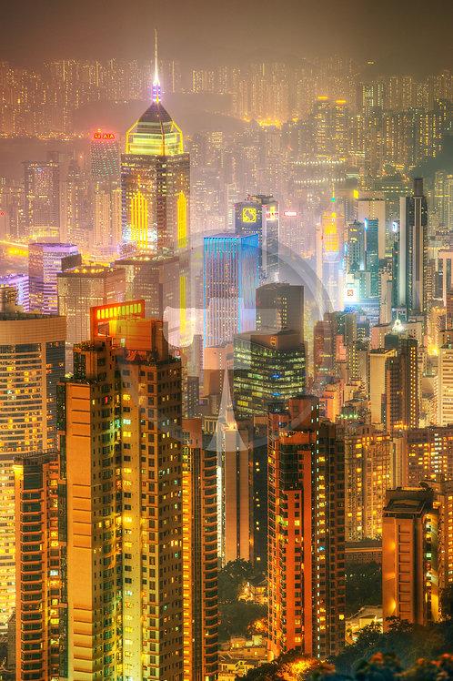Hong Kong from Victoria Peak II