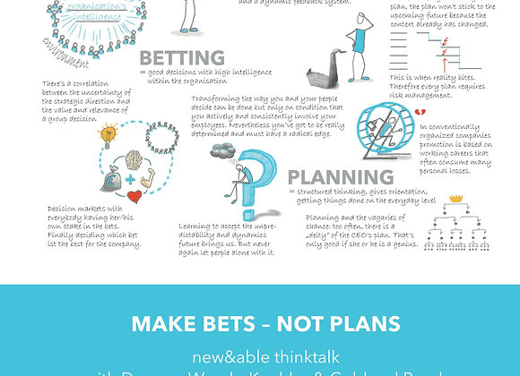 Make Bets not Plans – new&able think talk