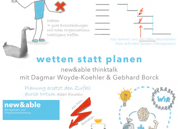 Wetten statt Planen – new&able thinktalk