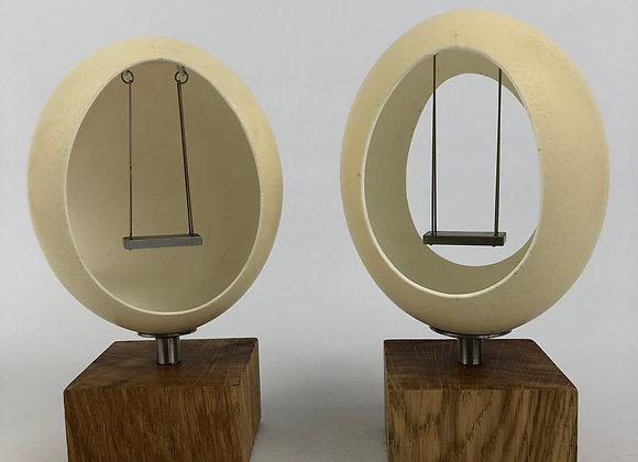 Eierschaukel – Straußenei