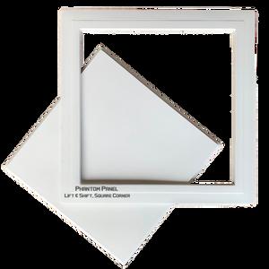 Phantom panel gfrg door lift shift square