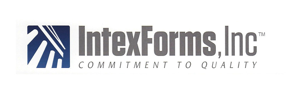 intex forms logo, commitment to quality
