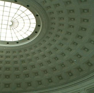 Custom Green Dome Ceiling