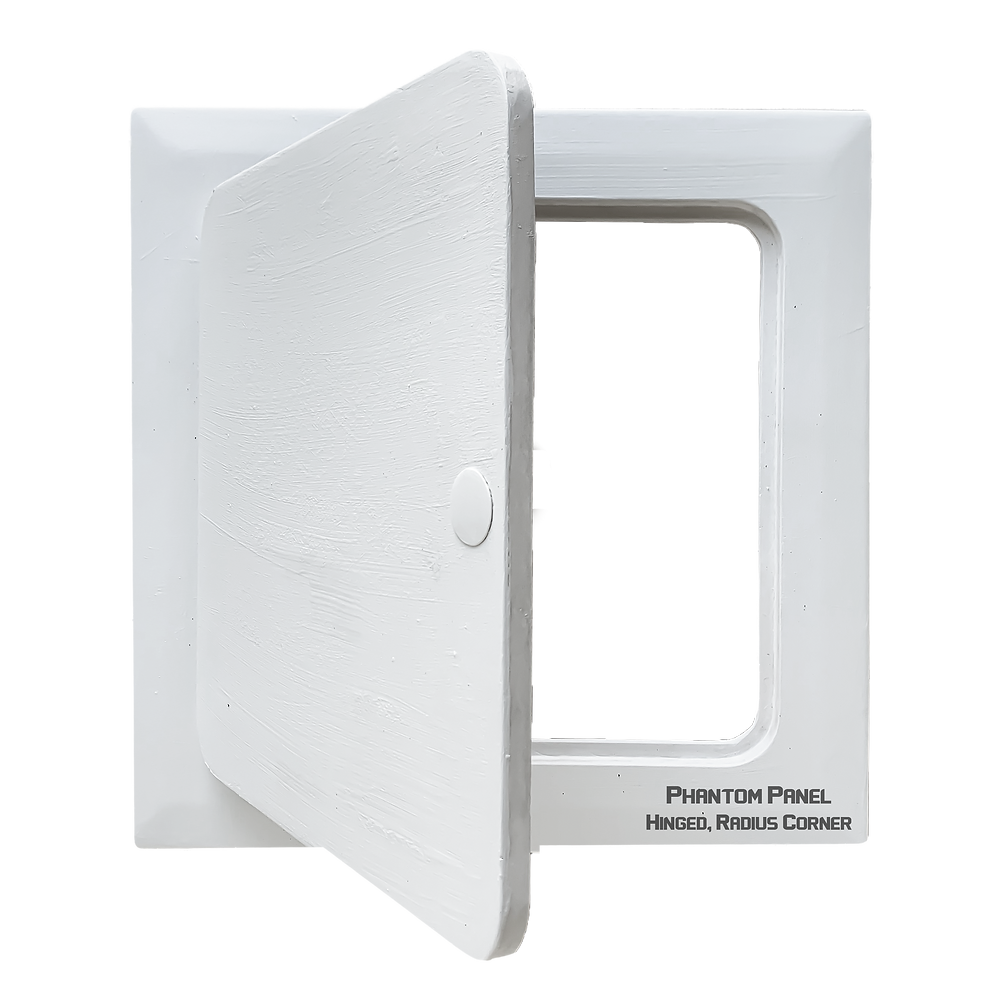 Hinged, Radius Corner, phantom panel