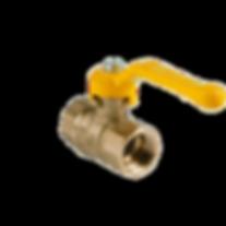 Кран шаровой бронзовый 11б27п(газ) пнг.p