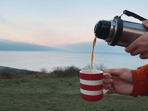 Morning Tea Sunrise Exmoor Hotel