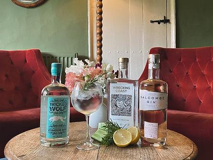 Cross Lane House, Exmoor, Bar, Cocktails