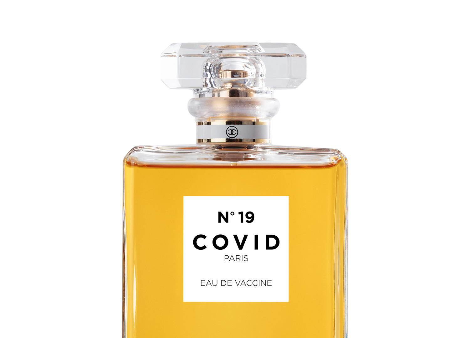 COVID No.19 EAU DE VACCINE (White)