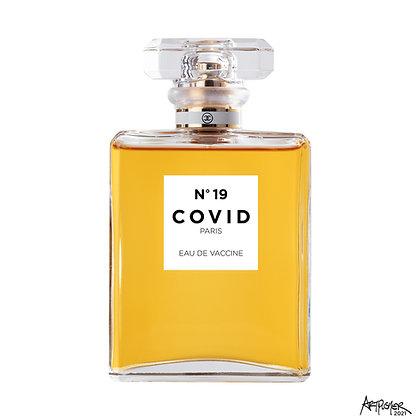 COVID No. 19 - Vaccine - White