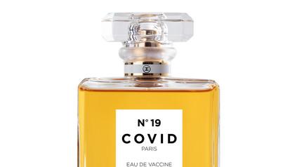 COVID No.19 EAU DE VACCINE (White)