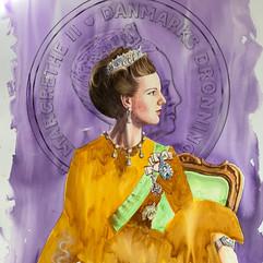 H.M Queen Margrethe II of Denmark (PRP/GLD)