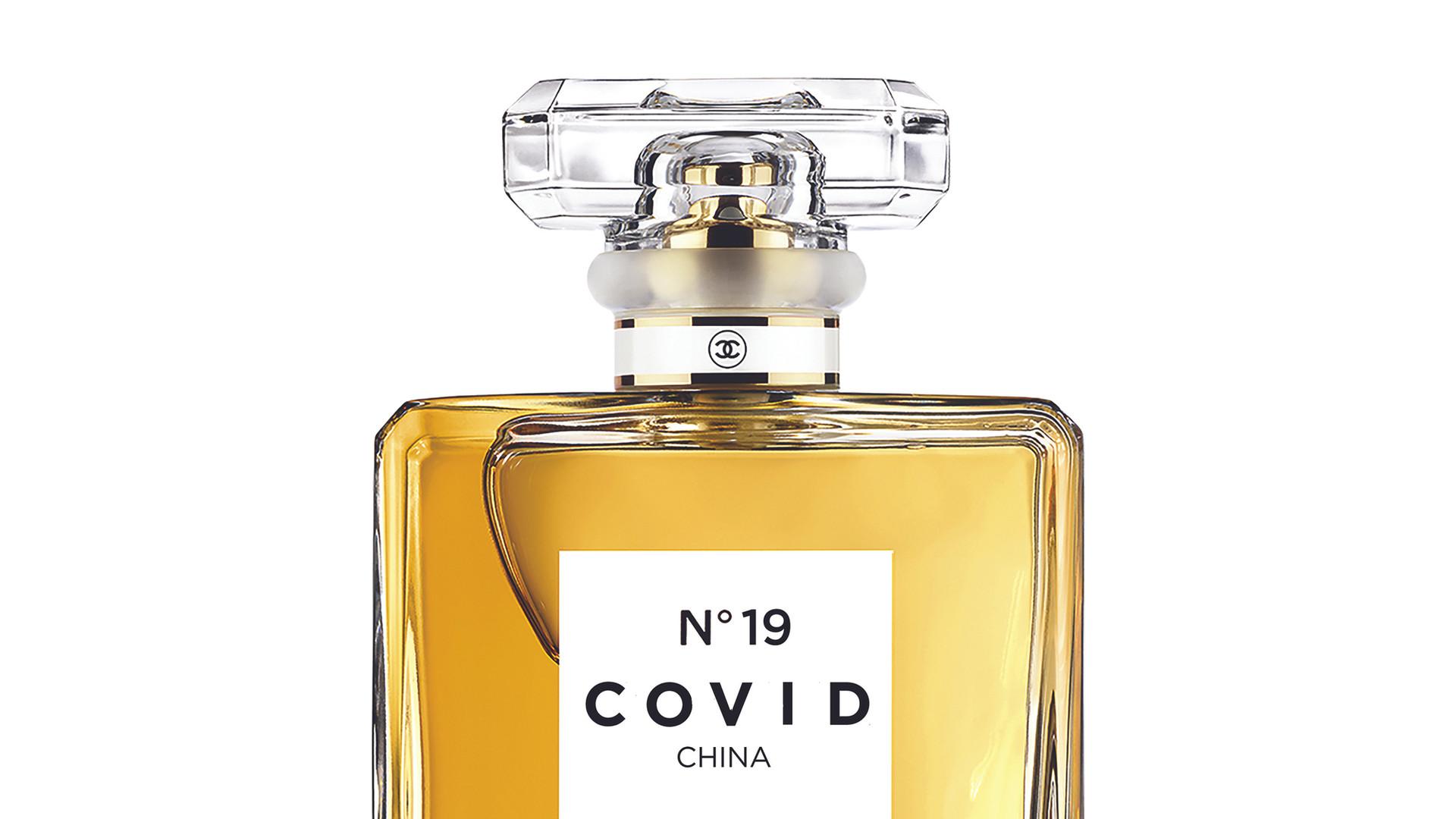 COVID No.19 EAU DE DISTANCE (White)