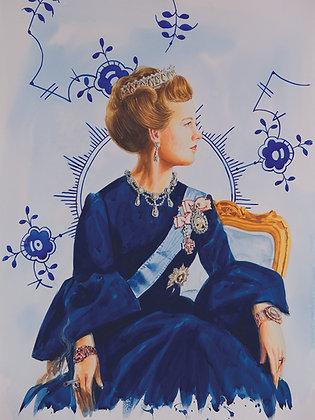 H.M Queen Margrethe II of Denmark (Mega Mussel )