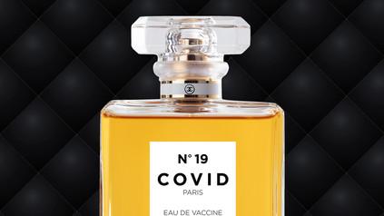 COVID No.19 EAU DE VACCINE (Black Leather)