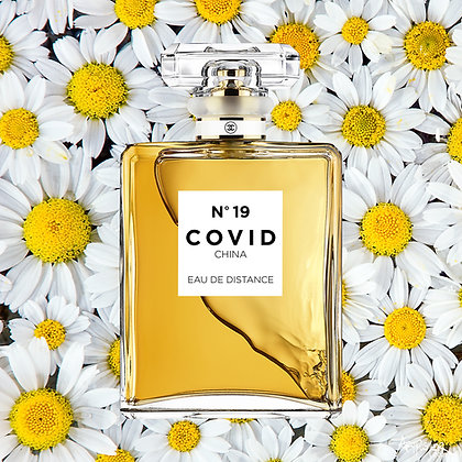 COVID No. 19 EAU DE DISTANCE (Daisy)