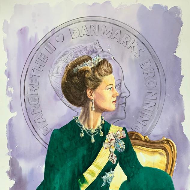 H.M Queen Margrethe II of Denmark (LVD/BTG) SOLD