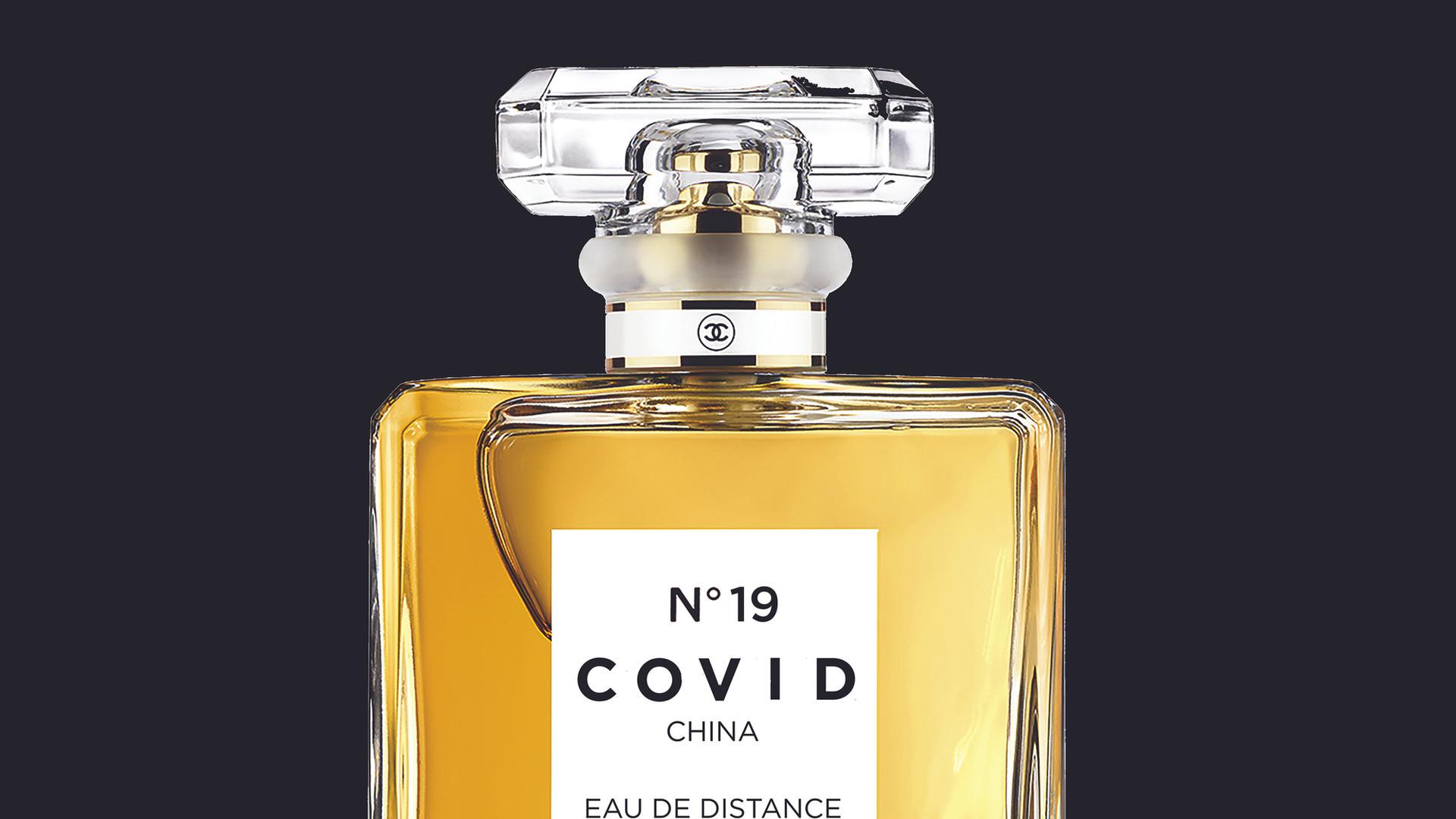 COVID No.19 EAU DE DISTANCE (Black)