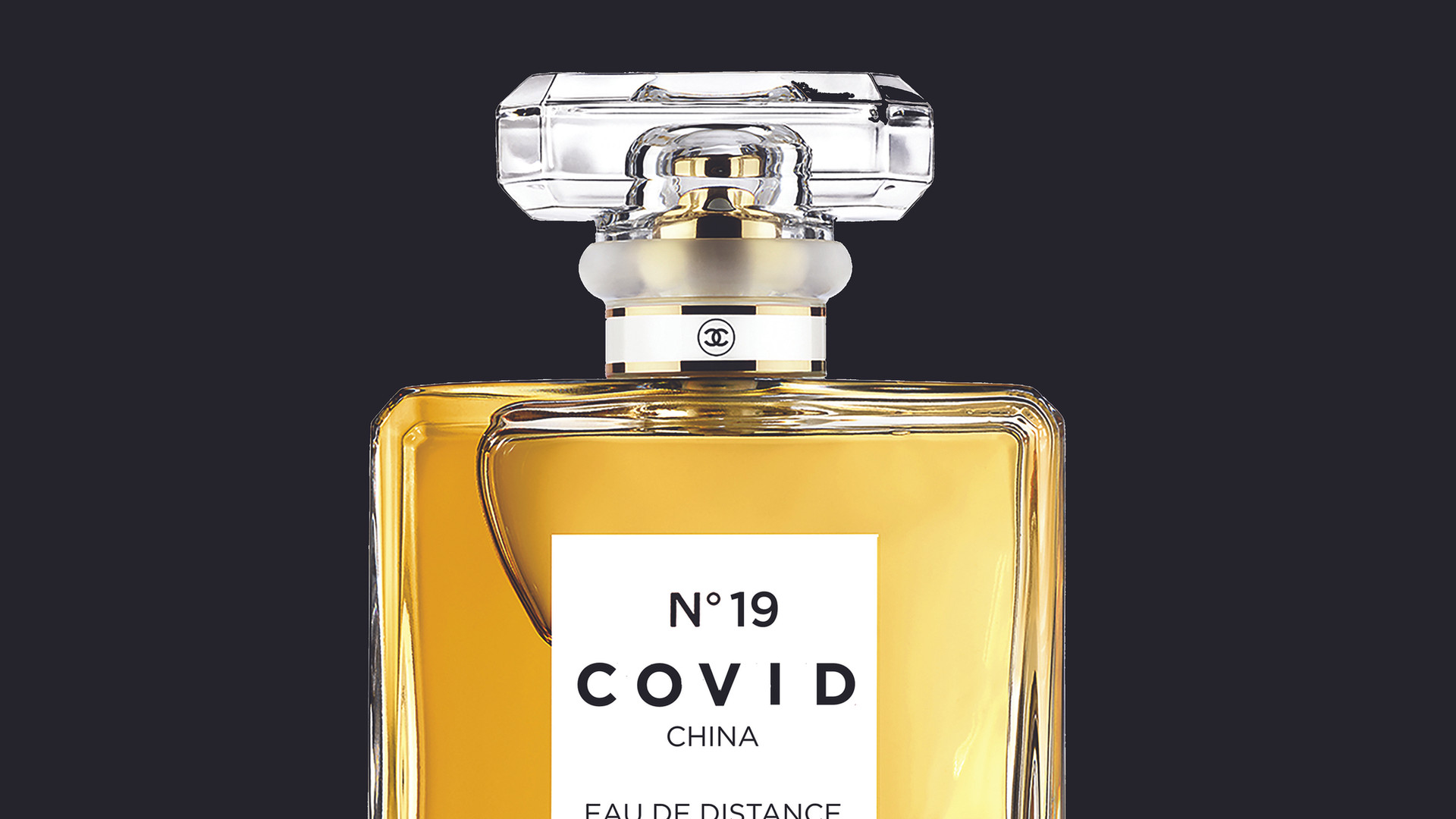 COVID No.19 EAU DE DISTANCE (Black)