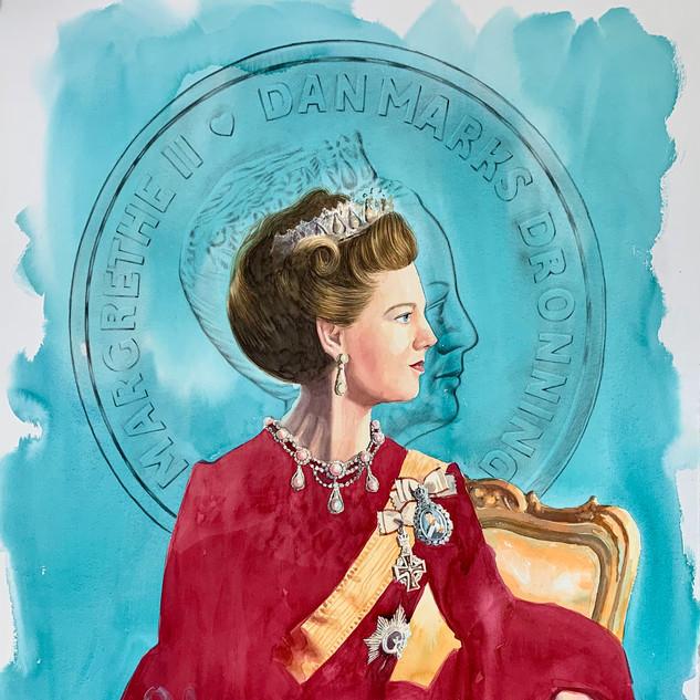 H.M Queen Margrethe II of Denmark (TQR/RW)