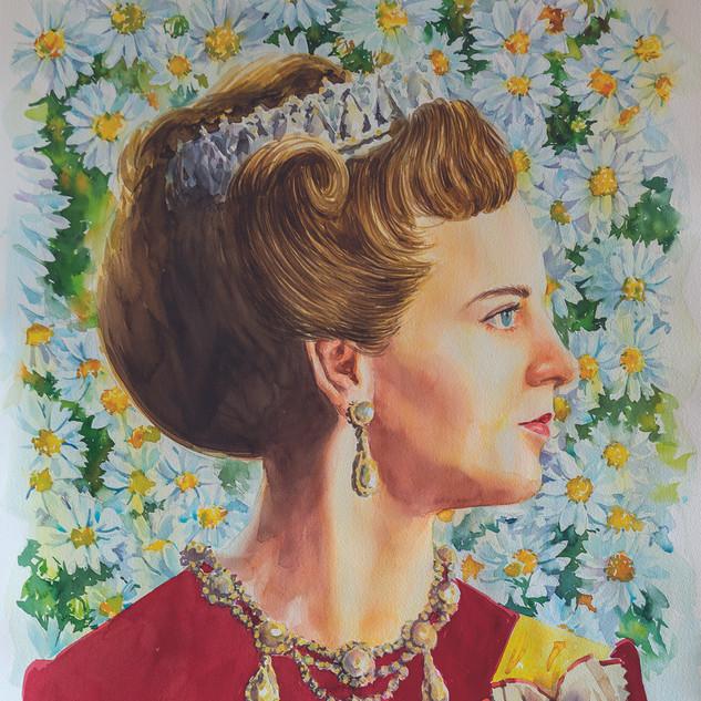 H.M Queen Margrethe II of Denmark (WD/RR)