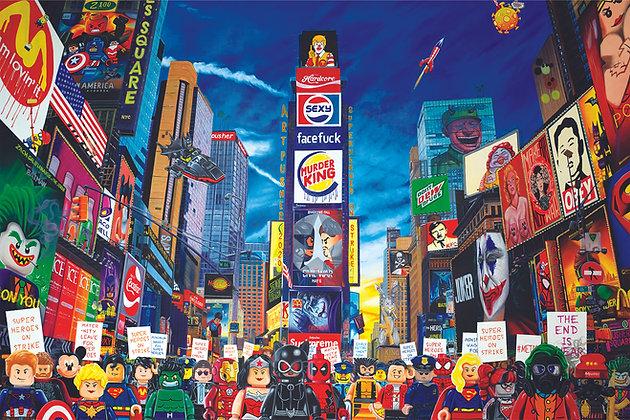 Super Heroes On Strike