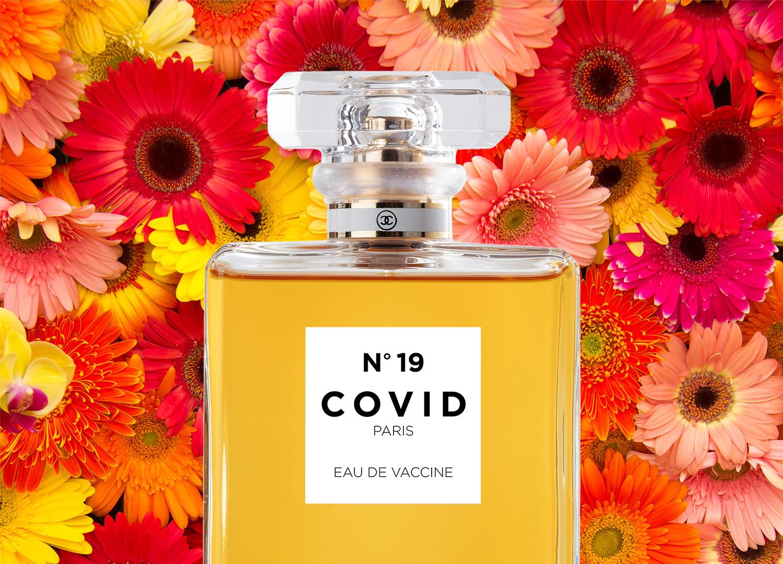 COVID No.19 EAU DE VACCINE (Pink Daisy)