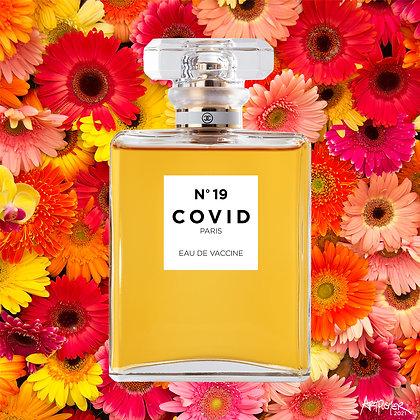 COVID No. 19 Pink Daisy